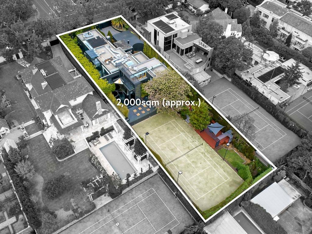 The five-bedroom home is surrounded by Japanese-inspired gardens. Picture: Supplied
