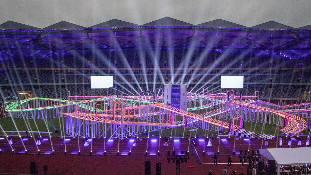 The FAI World Drone Racing Championships in Shenzen, China. Picture: Supplied.