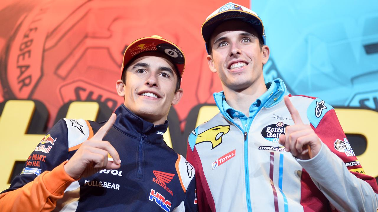 Repsol Honda's Marc Marquez will by joined by his brother Alex in 2020. Picture: Jose Jordan