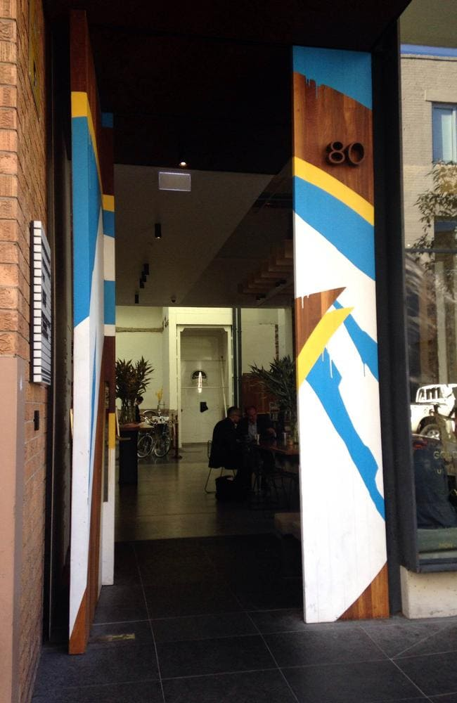The entrance to The Paramount Coffee Project in Surry Hills. Photo: Grace Koelma.