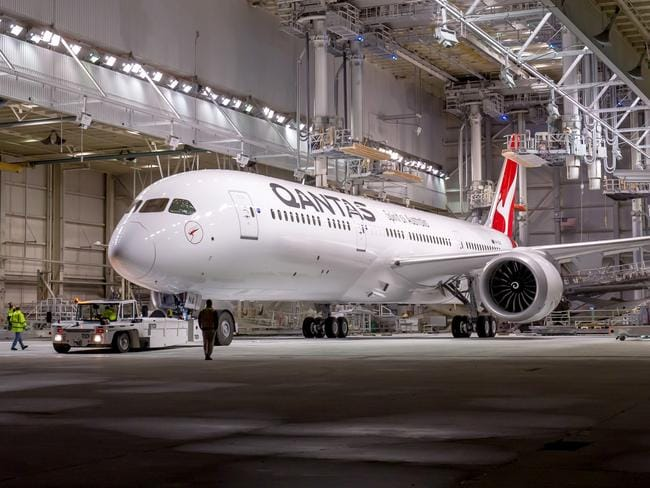 Qantas will achieve the feat in a factory-fresh Boeing Dreamliner. Picture: Qantas