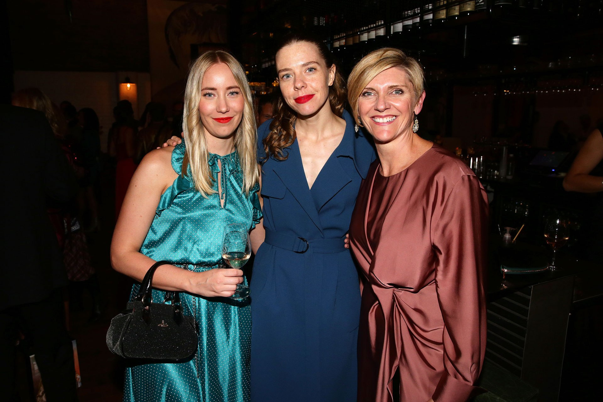 Guests attend the AMP Retail industry networking dinner during VAMFF. Image credit: Lucas Dawson
