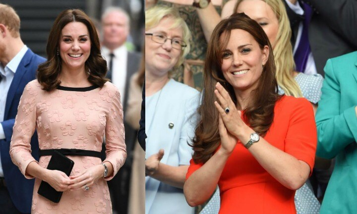Catherine, Duchess of Cambridge never wears coloured nail polish