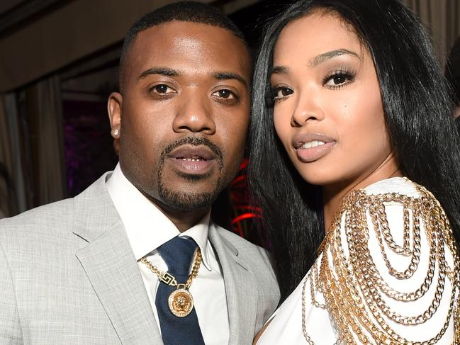 Singer Ray J (pictured with princess Love) has revealed some of Kim Kardashian's sexual habits. The singer was with the reality star and made a sex tape with her. Picture: Emma McIntyre/Getty Images