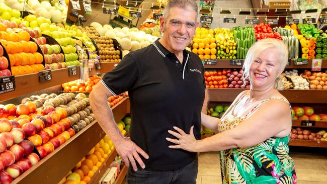 The well-known Ivanhoe (Melbourne) fruiter said he gets stopped a lot by people asking how he did it and 'I just tell them that it was Jenny Craig'.