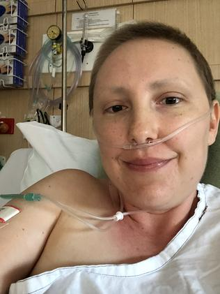 """It fills me with hope that there might be something there that can stop this disease"". Picture: Supplied"