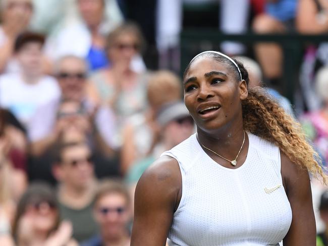 Serena couldn't catch a break.