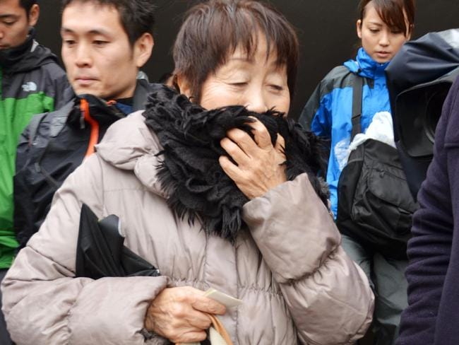 The 'black widow' Chisako Kakehi poisoned four men with cyanide, killing three of them. Picture: Kyodo News/AP.