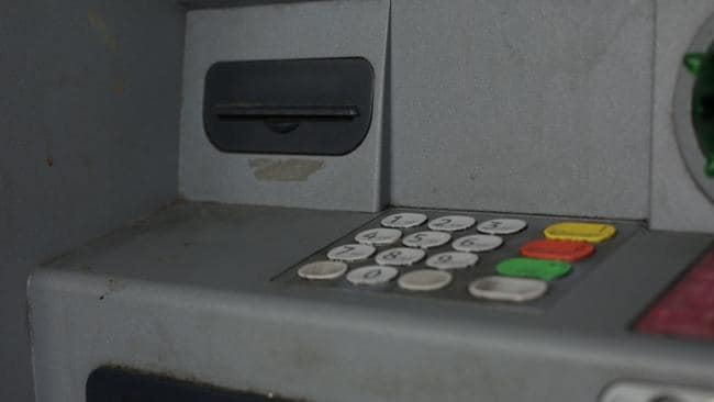 Sticky, grimy ATMs.