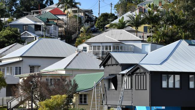 Brisbane has a median house price of $538,000 — still significantly less than Sydney's $980,000 and Melbourne's $750,000, despite the price falls in those two cities. Image: AAP/Darren England.