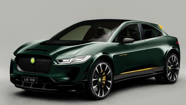Lister has upgraded the SUV-E's power via software update.