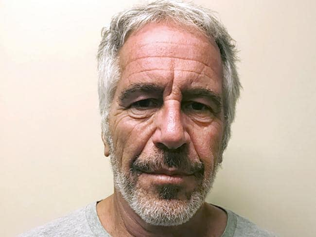 Jeffrey Epstein committed suicide in jail in August. Picture: New York State Sex Offender Registry via AP, File.