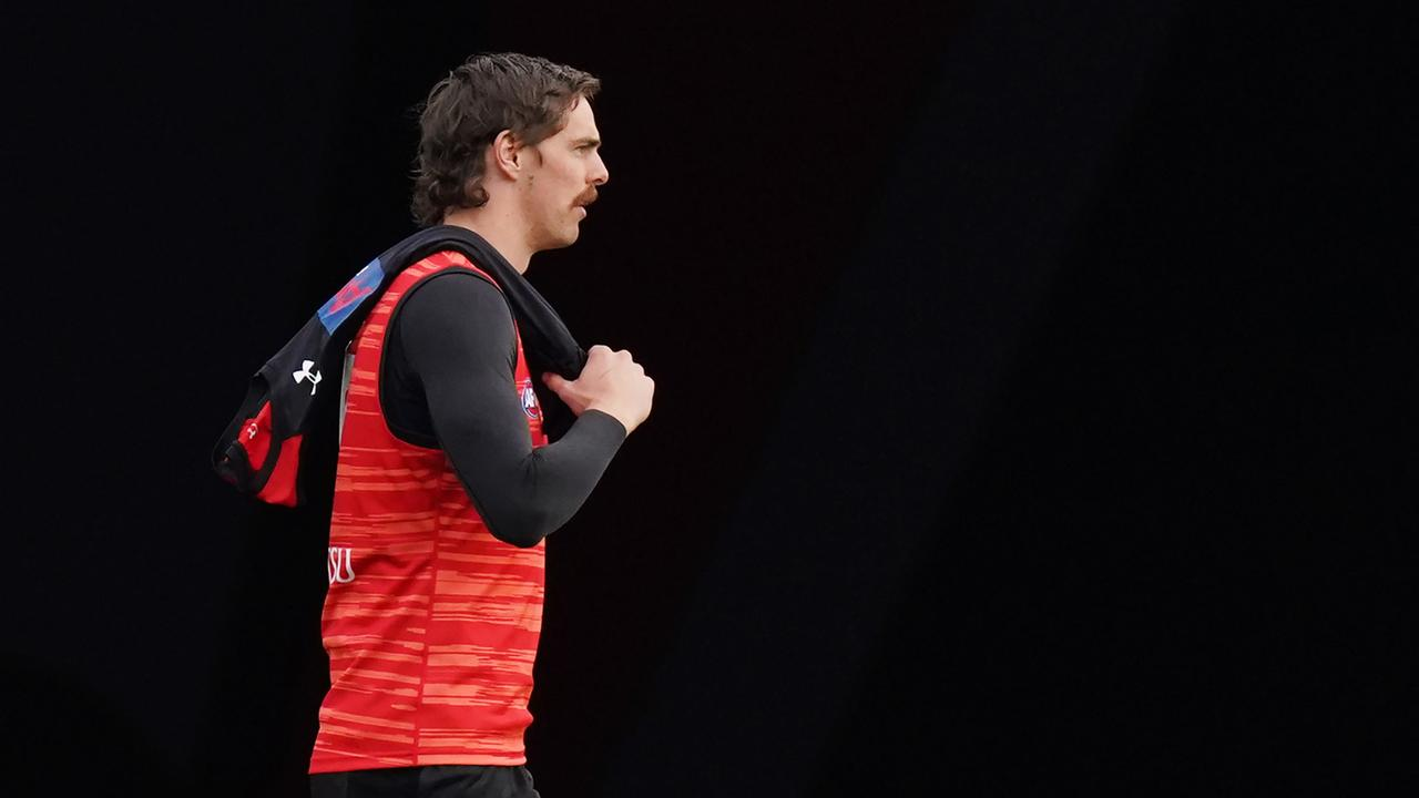 Joe Daniher is yet to return from injury. Photo: Michael Dodge/AAP Image.