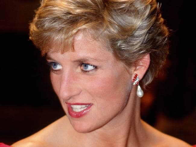 These pearl drop earrings were a favourite. Picture: Tim Graham/Getty Images