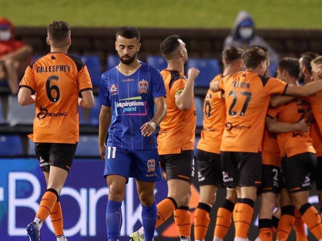 A-League - Newcastle Jets v Brisbane Roar FC