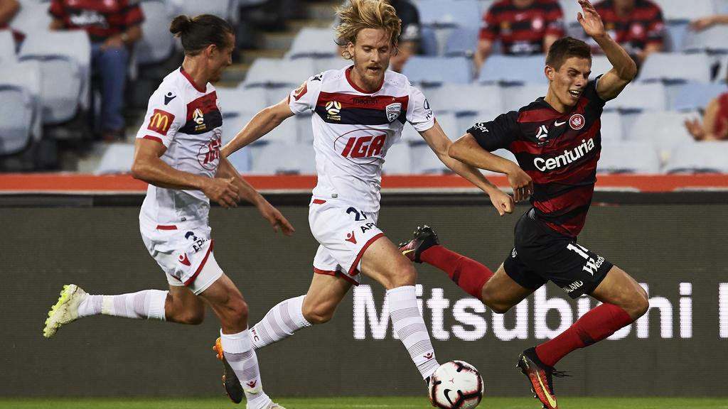 Adelaide United Picture: A-League: Adelaide United Defeats Western Sydney Wanderers