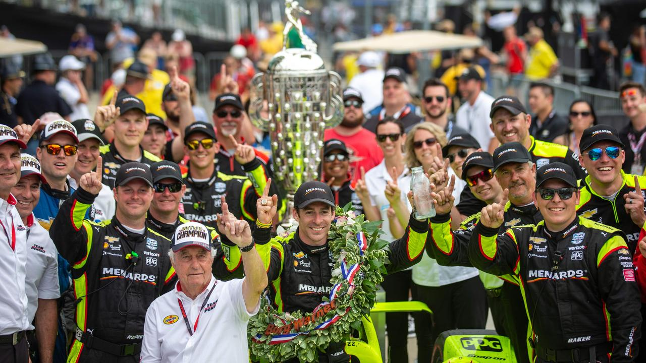 Simon Pagenaud won the 103rd running of the Indy 500