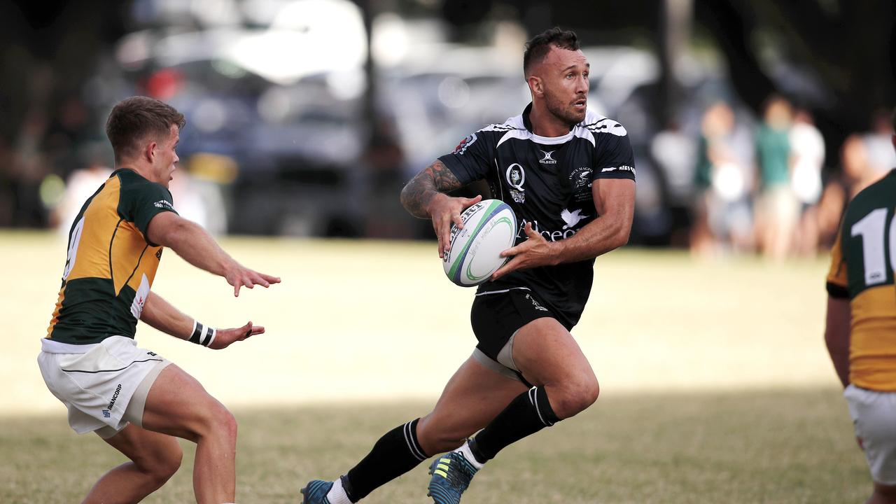 Quade Cooper will miss up to a month of action after sustaining an MCL injury for Souths.