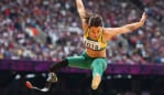 Kelly dominating at the 2012 London Paralympics. Image: Getty