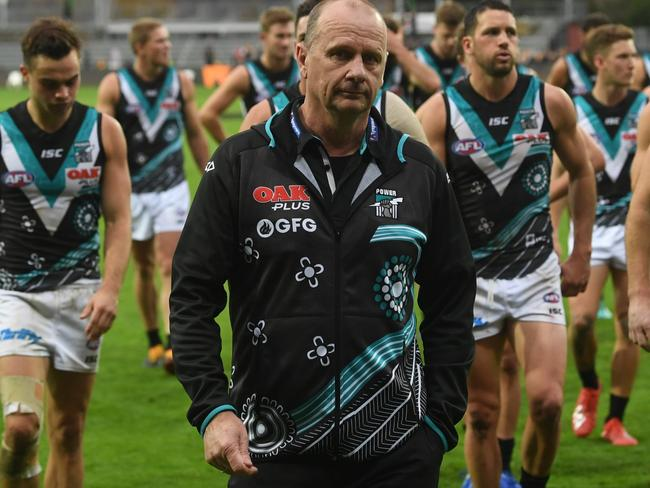 Coach of the Power Ken Hinkley has some explaining to do.