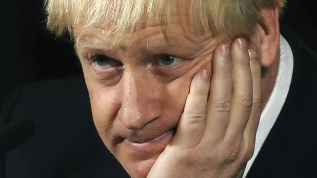Britain's Prime Minister Boris Johnson is facing a backlash. Picture: AP Photo/Rui Vieira