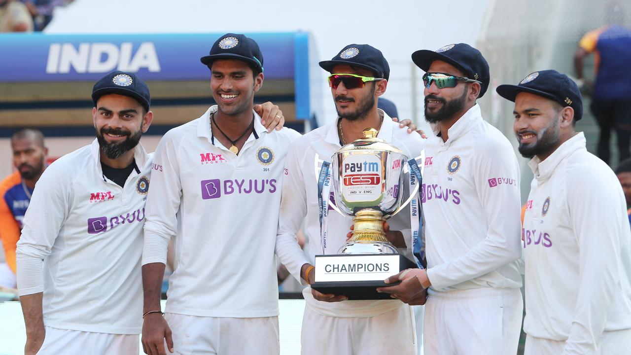 England was powerless to stop India's incredible home record.