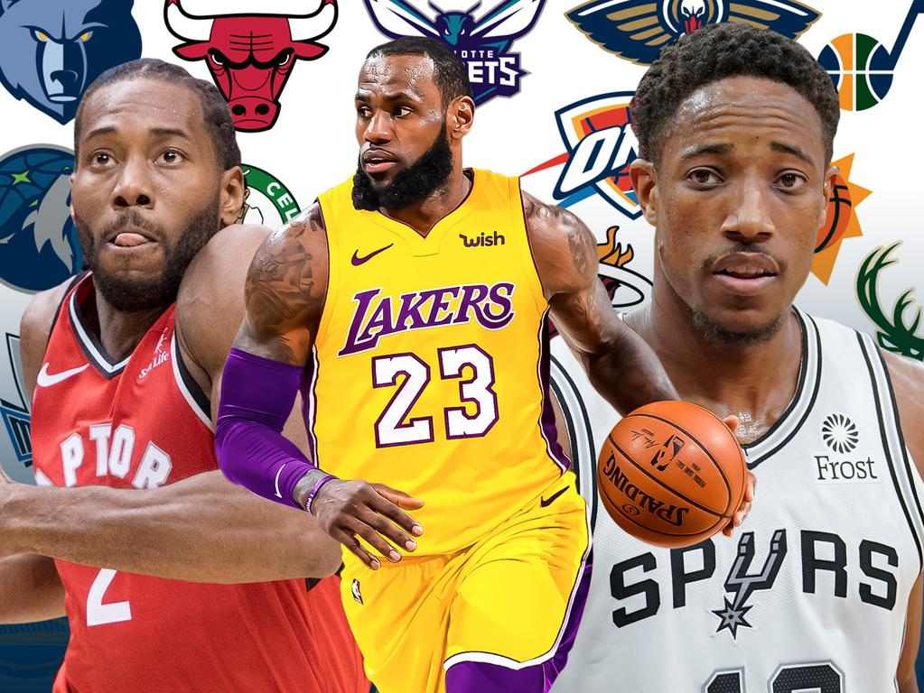 Every NBA team's roster ahead of opening day.
