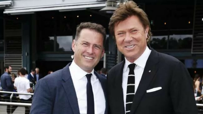 It comes as a major shake-up of the breakfast show, where Karl Stefanovic, L, and Wilkins, R, are stepping down. Picture: Justin Lloyd Source: News Corp Australia