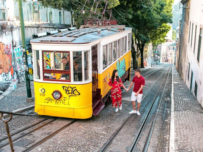 Exploring Lisbon, Portugal in July 2018. Picture: News Dog Media/Australscope