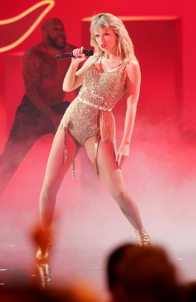 It's the first time Taylor Swift has appeared in a feature film since Cats in 2019. Picture: JC Olivera/Getty Images
