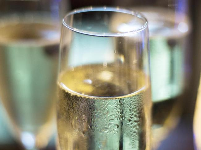 Glass flutes are always the best choice when it comes to prosecco or champagne.