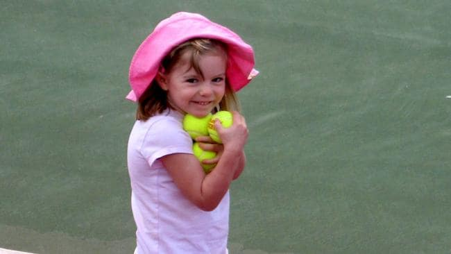 Missing British child Maddie McCann vanished from an apartment in a Portuguese resort.