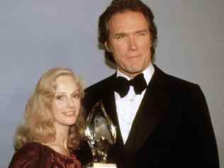 Clint Eastwood amd Sondra Locke in 1981 Source:AP