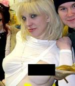 <p>Courtney Love has seen one tragedy after another. Her botched breasts are the least of her problems.</p>
