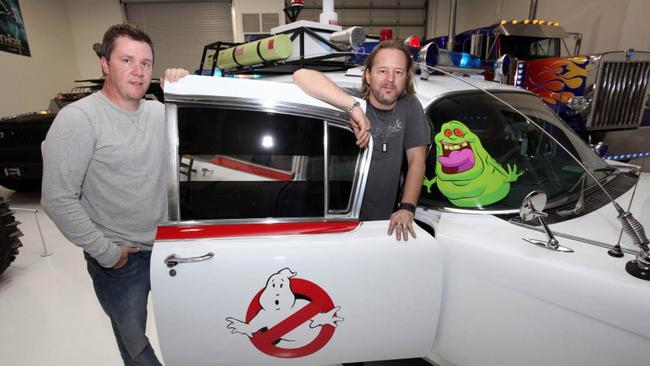The Ecto-1 ambulance from Ghostbusters.