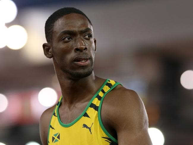 Kemar Bailey-Cole won the men's 100m sprint at the Commonwealth Games.