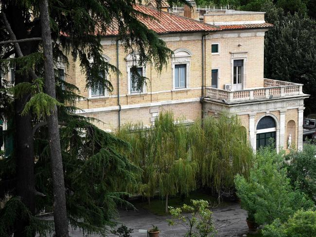 The Vatican Nunciature-Embassy to Italy in Rome Picture: Alberto Pizzoli