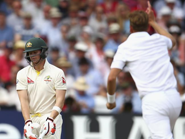 Steve Smith has copped the brunt of Geoffrey Boycott's rant following his second innings dismissal at Trent Bridge.