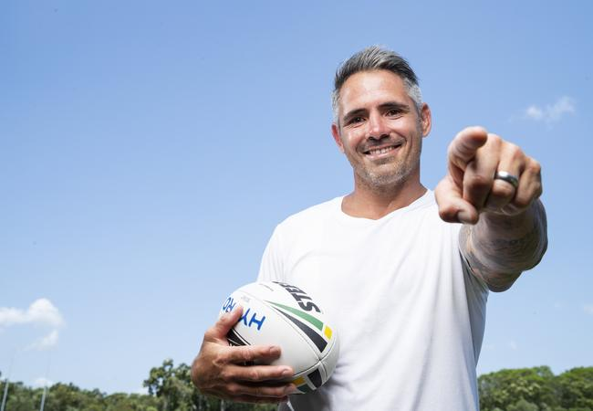 Former Bronco Corey Parker is the face of SuperCoach for 2020. Picture: Lachie Millard