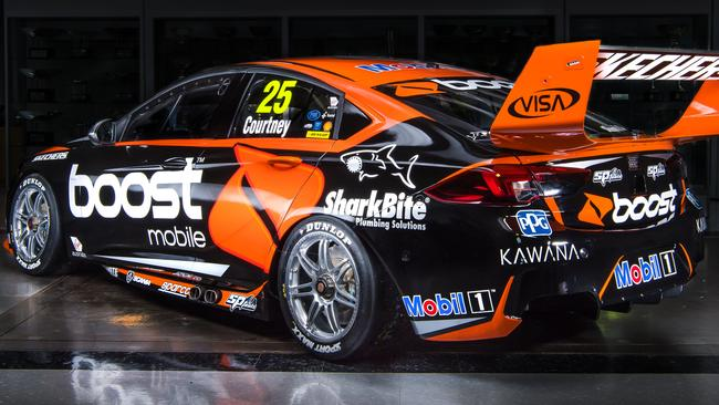 Walkinshaw Andretti United's livery for the 2018 Supercars season.