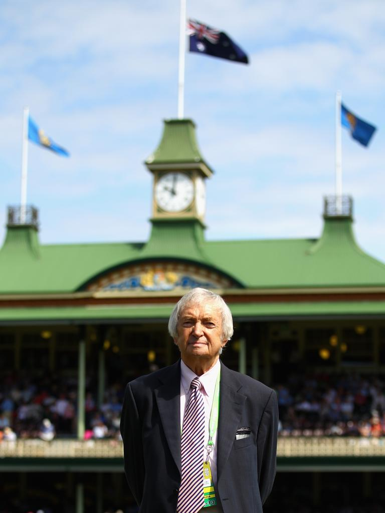 At the SCG, 2013.