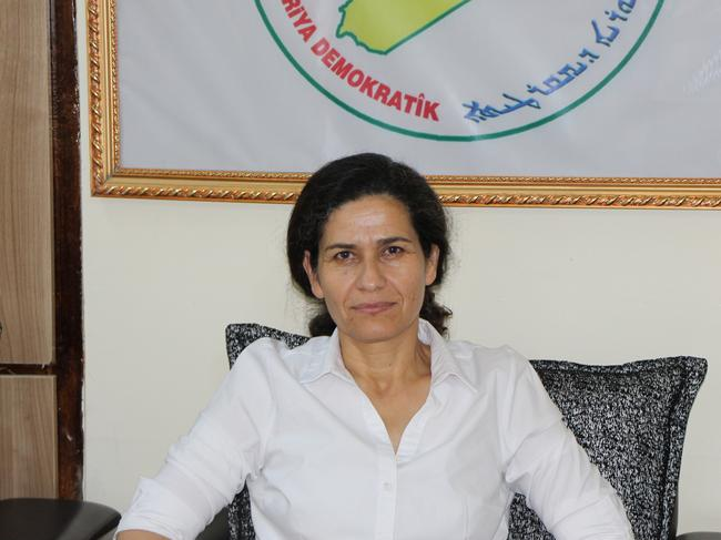 Ilham Ahmed, co-chair of Syrian Democratic Council said the US had the right to make a decision that was in its security interests. Picture: Jonathan Spyer