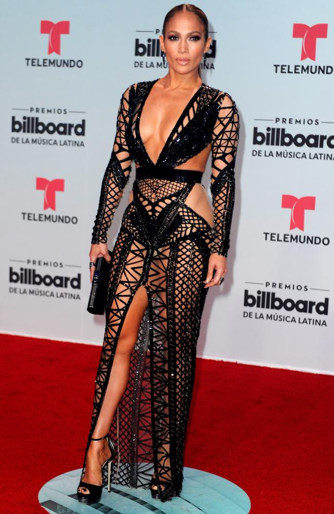 She flaunted her figure last week at the Billboard Latin Music Awards.