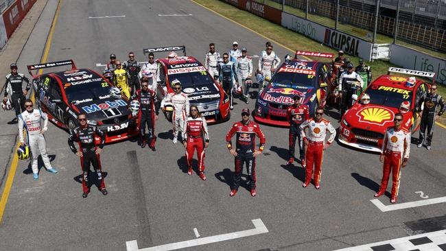 Supercars Entry List Every Driver Car And Livery Fox Sports
