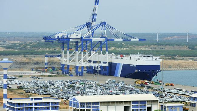 Last year Sri Lanka formally signed its strategic Hambantota Port over to China for 99 years.