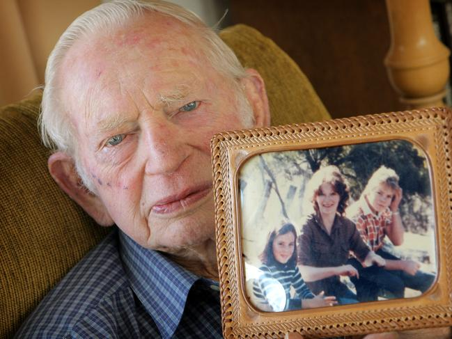 Margaret's father Alan Nelson fought for justice for her and Seana. Picture: Herald Sun