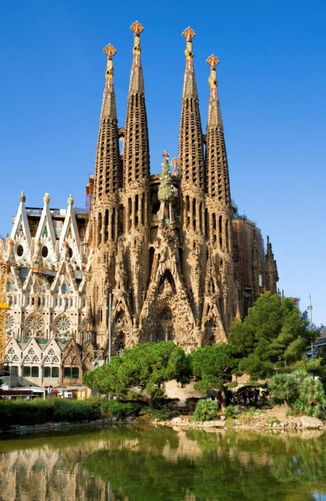 La Sagrada Família, Barcelona, is the most reviewed tourist attraction in the globe.
