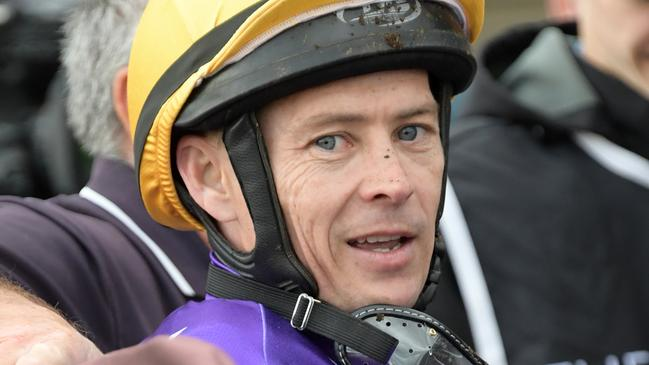 Andrew Gibbons will ride Irish Duke for trainer Adam Duggan at Tamworth. Picture: AAP