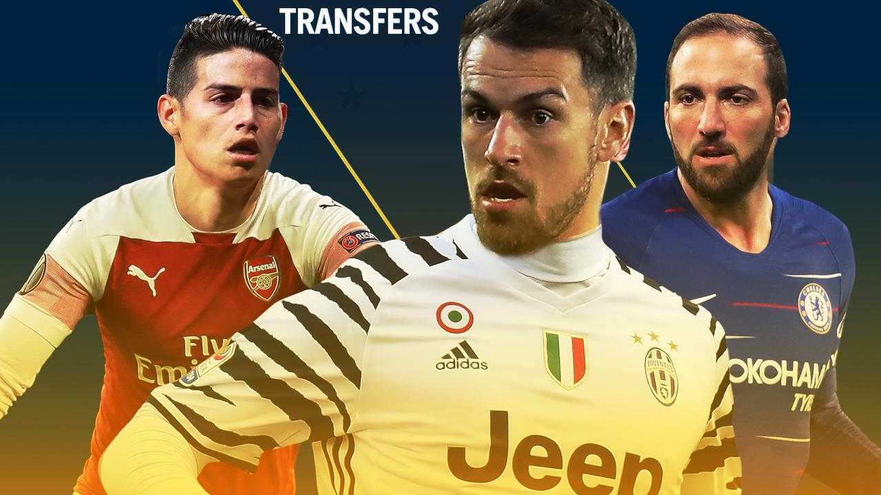 James Rodriguez, Aaron Ramsey and Gonzalo Higuain are just three who could be on the move this month.