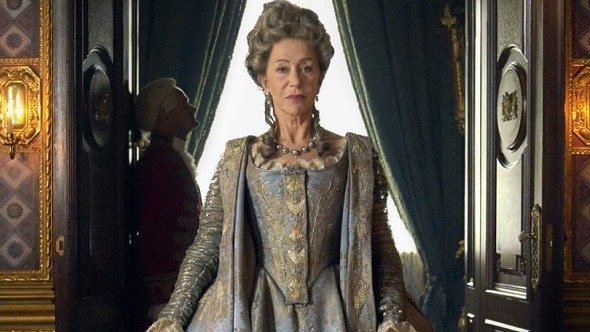 Dame Helen Mirren as Catherine The Great in the upcoming HBO drama.